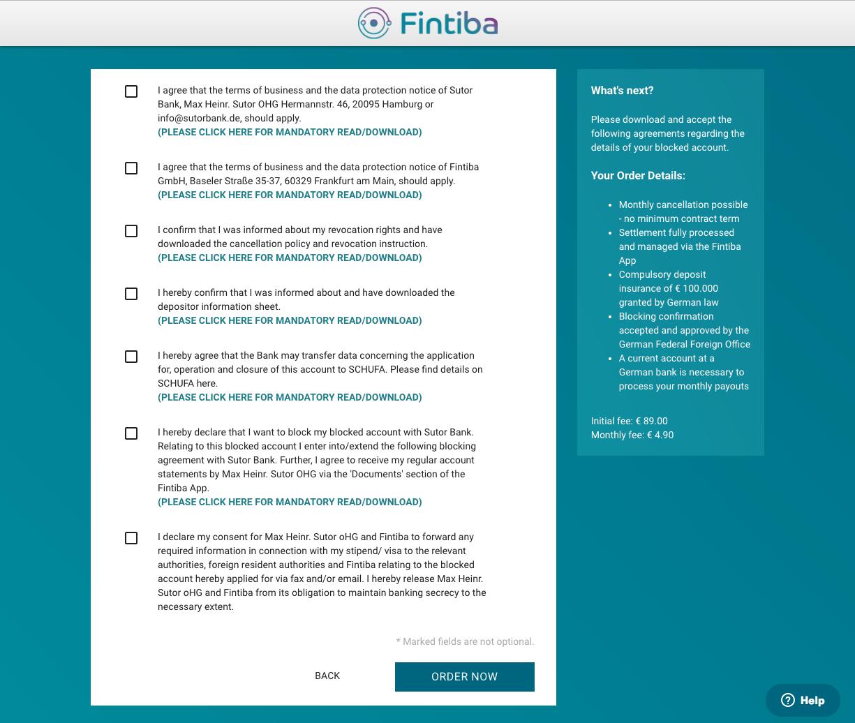 Как открыть Блокированный Счет для Немецкой Студенческой Визы Онлайн